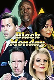 Don Cheadle, Regina Hall, Andrew Rannells, Paul Scheer, and Casey Wilson in Black Monday (2019)