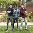Drew Scott, Jonathan Silver Scott, and Scott McGillivray in Brother vs. Brother (2013)