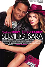 Elizabeth Hurley and Matthew Perry in Serving Sara (2002)