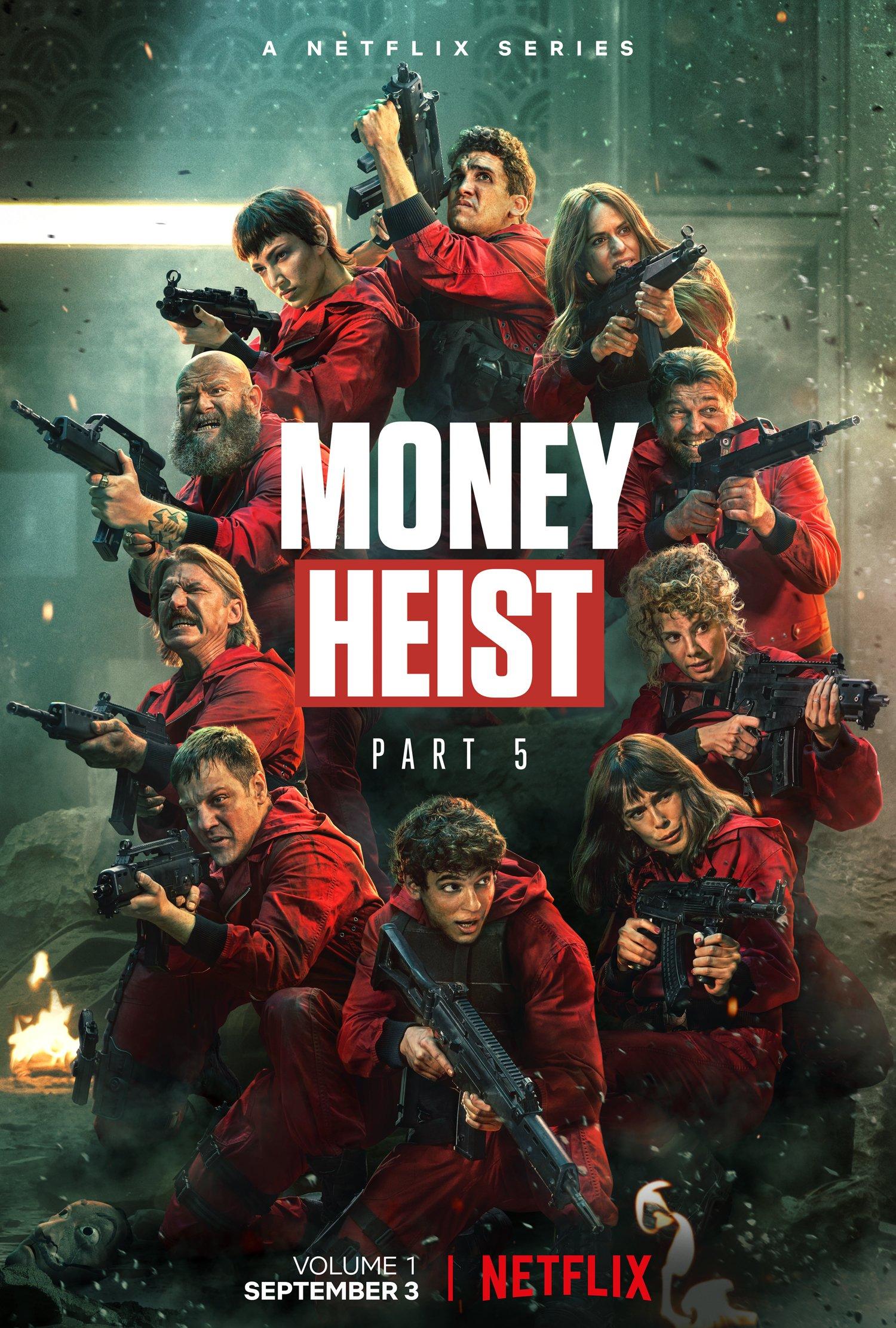 Money Heist 2021 Season 5 (Vol 1) Dual Audio Hindi ORG 720p WEB-DL 1.9GB Download