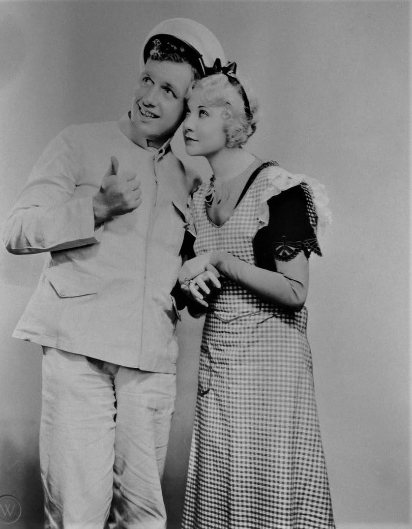 Andy Devine and Una Merkel in The Impatient Maiden (1932)