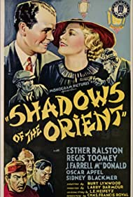 Esther Ralston and Regis Toomey in Shadows of the Orient (1935)
