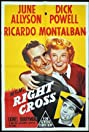 Right Cross (1950) Poster