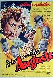 Die wilde Auguste Poster