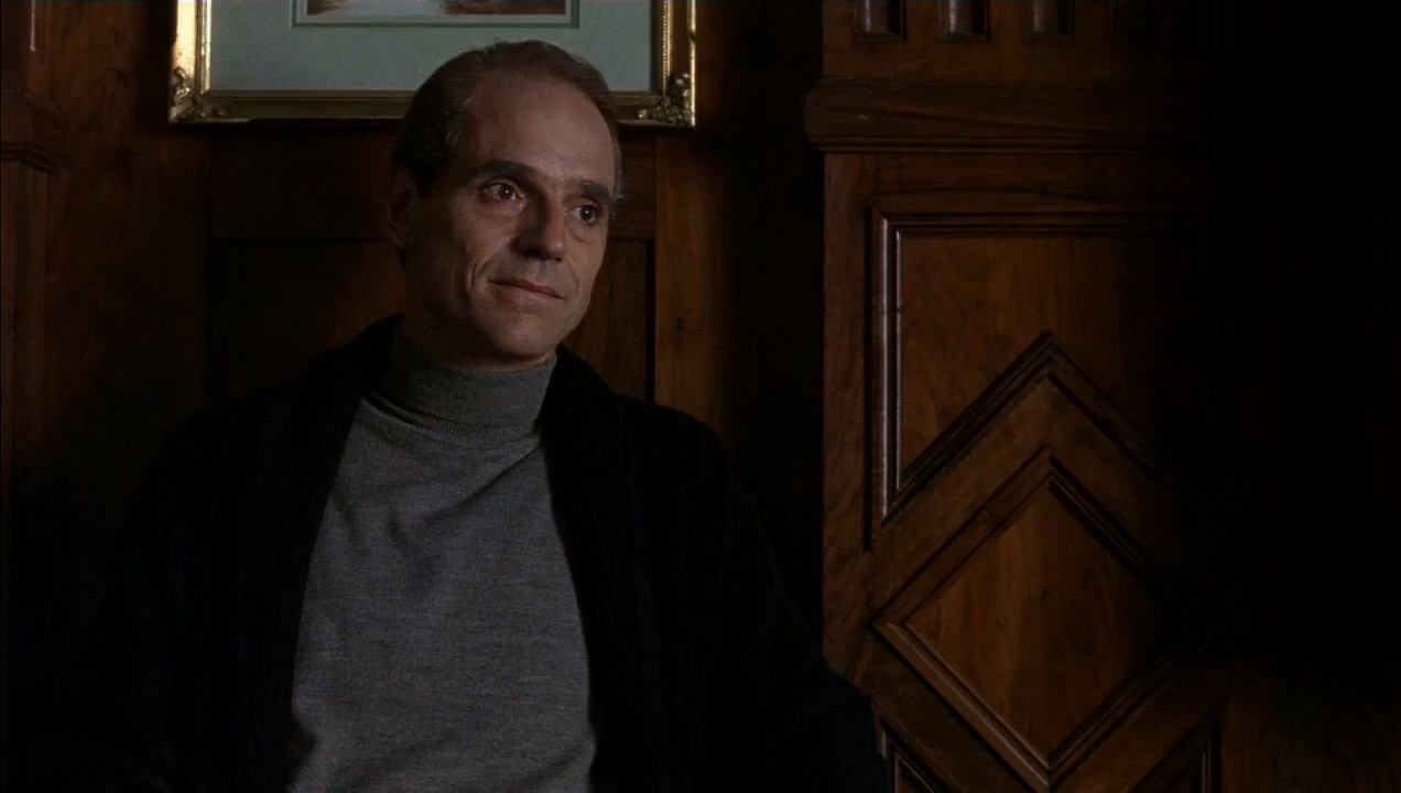 Jeremy Irons in Reversal of Fortune (1990)