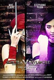 Elektra v Psylocke Poster