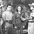 Trevor Bardette, Frances Gifford, and Tom Neal in Jungle Girl (1941)