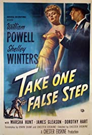 Take One False Step Poster