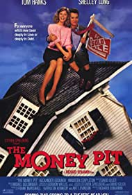 Tom Hanks and Shelley Long in The Money Pit (1986)