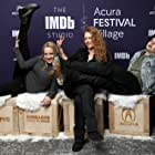 Debra Eisenstadt, Wendi McLendon-Covey, and Max Burkholder at an event for The IMDb Studio at Sundance (2015)