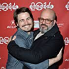 David Cross and Jason Ritter at an event for Hits (2014)