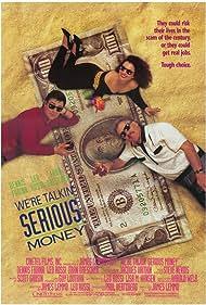 Fran Drescher, Dennis Farina, and Leo Rossi in We're Talkin' Serious Money (1992)