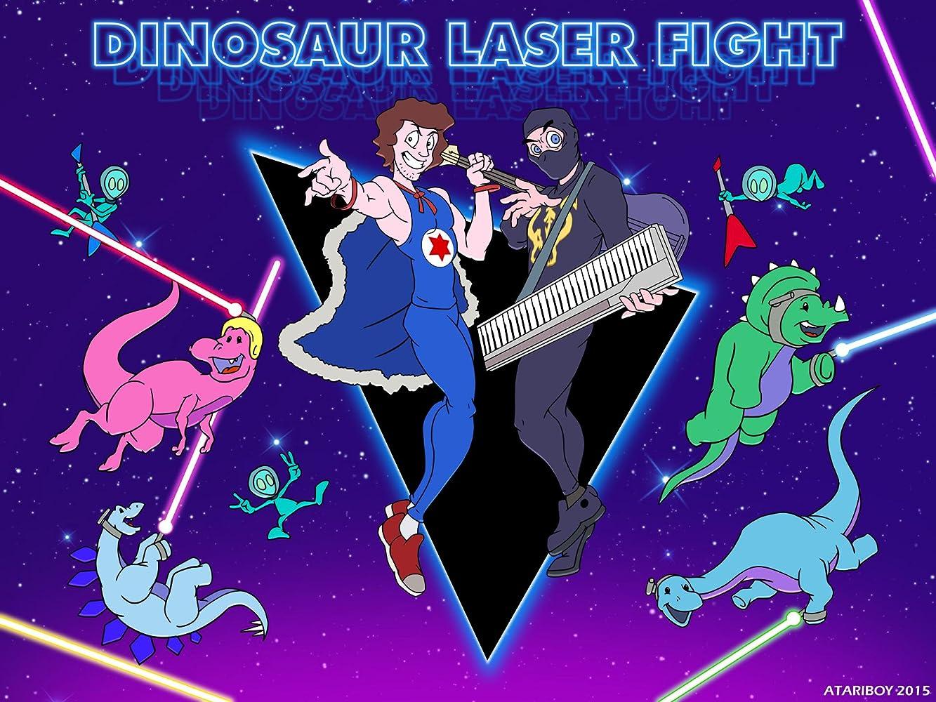 Ninja sex party dinosaur laser fight foto 8