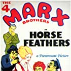 Groucho Marx, Chico Marx, Harpo Marx, Zeppo Marx, Thelma Todd, and The Marx Brothers in Horse Feathers (1932)