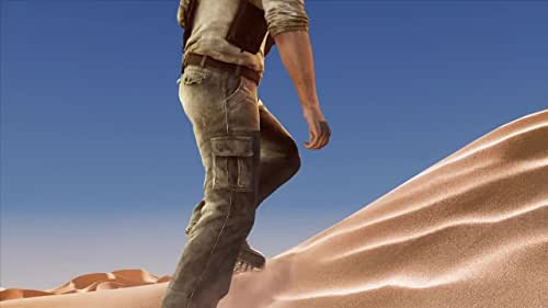 Fortune hunter Nathan Drake is catapulted into an adventure that takes him on a trek into the heart of the Arabian Desert in a search for the fabled Atlantis of the Sands.