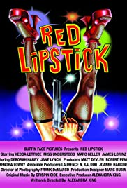 Red Lipstick Poster