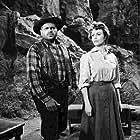 Hazel Court and Bert Freed in Bonanza (1959)