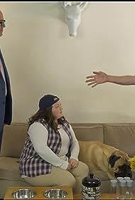 Craig Anton, Kathy Deitch, Larry Blackman, and Giovanni the Dog in DogGone It! (2017)
