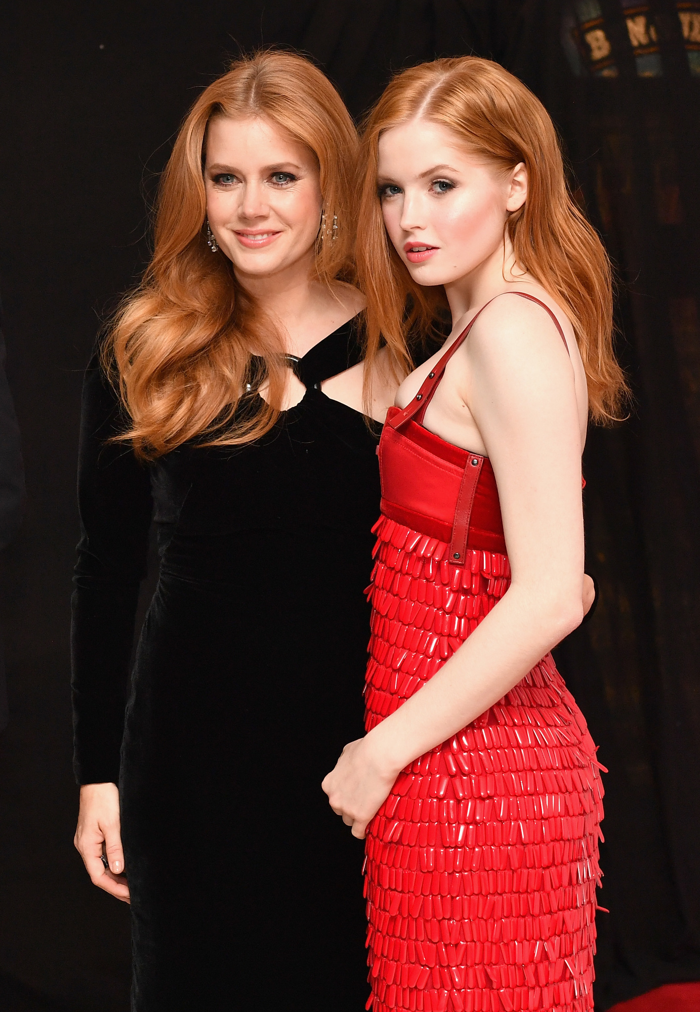 Amy Adams and Ellie Bamber at an event for Nocturnal Animals (2016)