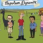 Tina Majorino, Diedrich Bader, Jon Gries, Sandy Martin, Efren Ramirez, Aaron Ruell, and Jon Heder in Napoleon Dynamite (2012)