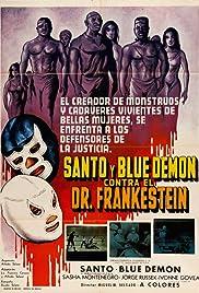 Santo and Blue Demon vs. Dr. Frankenstein Poster