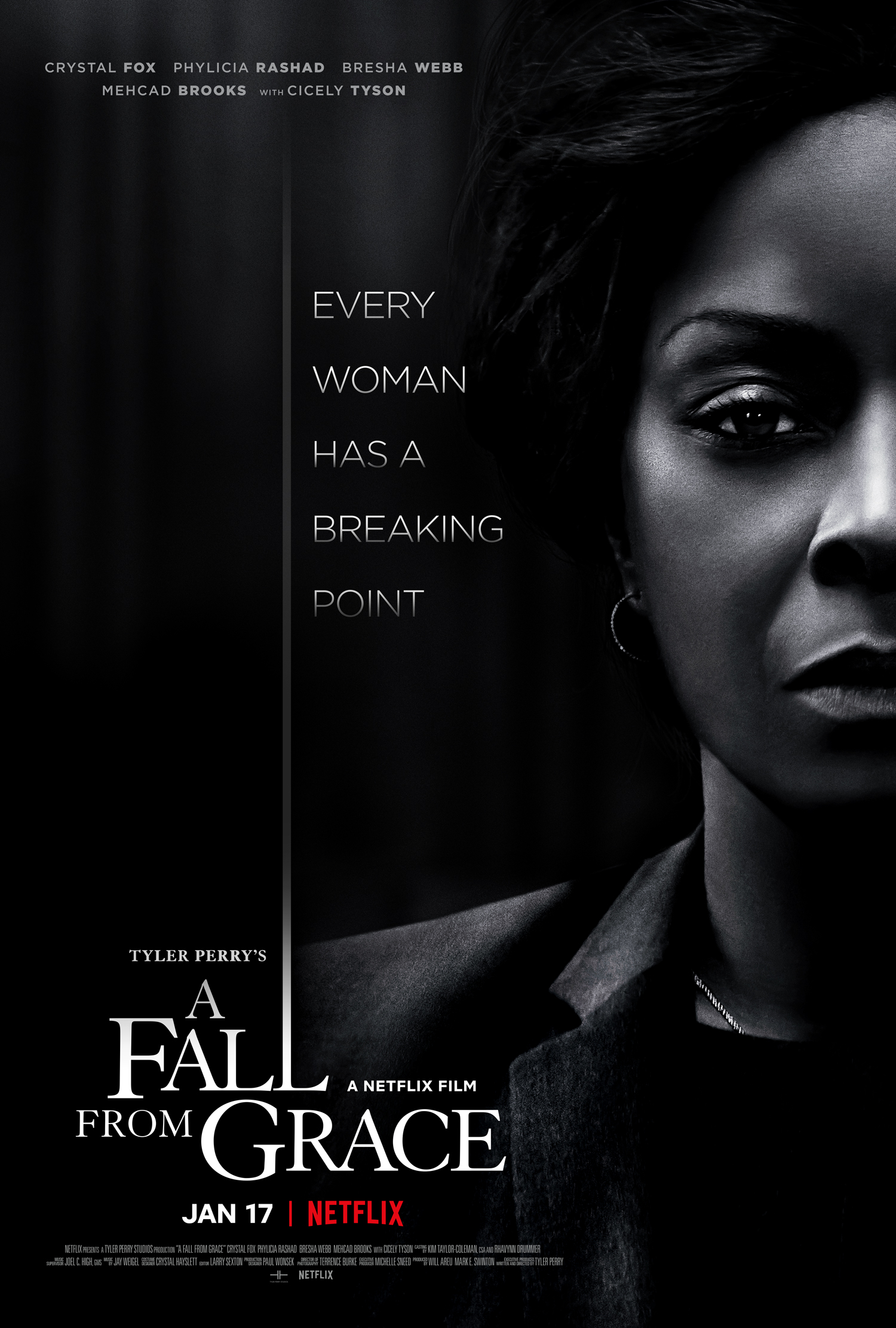 Image result for tyler perry's a fall from grace poster
