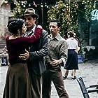 Denise Sardisco, Pietro Di Rauso, and Luca Marinelli in Martin Eden (2019)