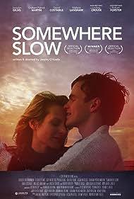 Jessalyn Gilsig and Graham Patrick Martin in Somewhere Slow (2013)