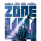 Guy Pearce and Matilda Anna Ingrid Lutz in Zone 414 (2021)