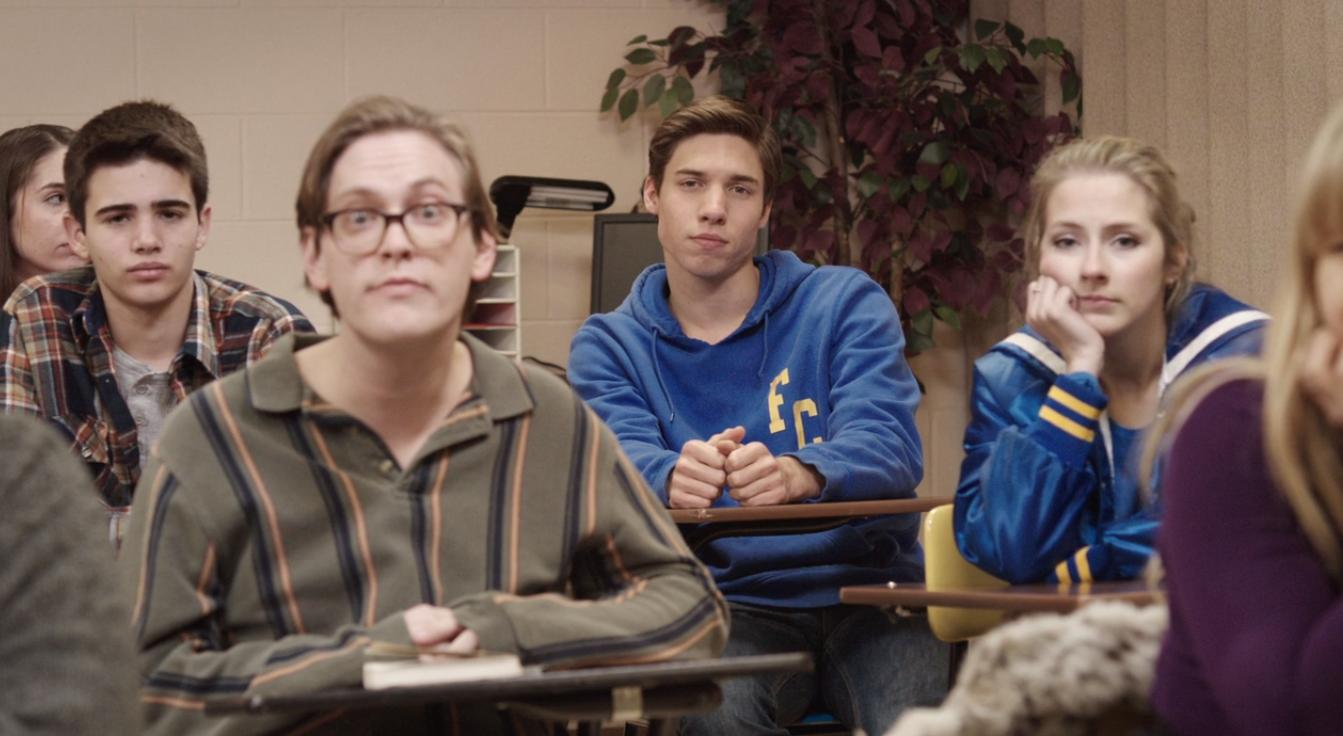 Chayce Wellings, Haley Buckner, and Josiah Schneider in More Than Four Hours (2015)