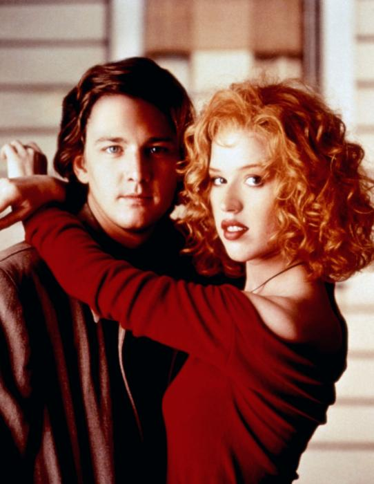 Molly Ringwald and Andrew McCarthy in Fresh Horses (1988)