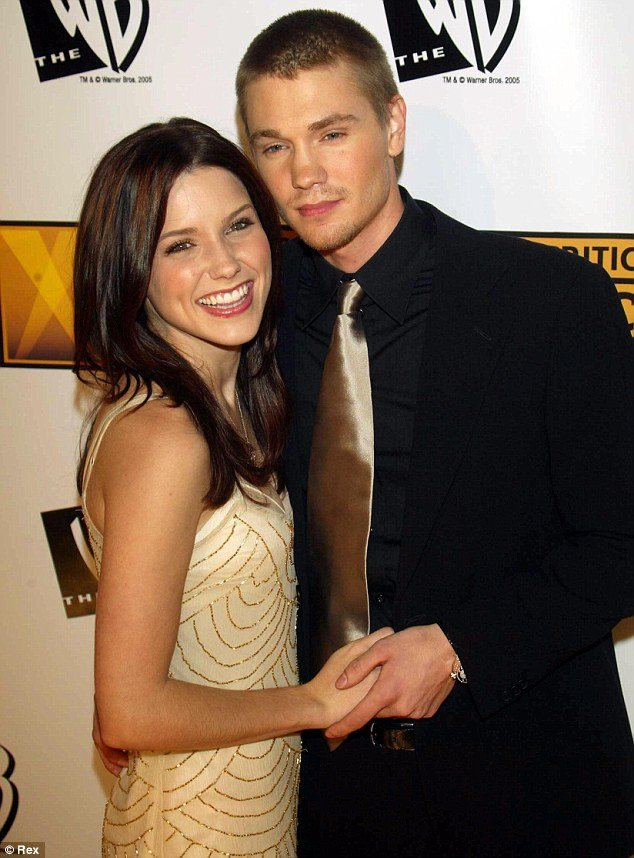 Sophia Bush and Chad Michael Murray at an event for One Tree Hill (2003)