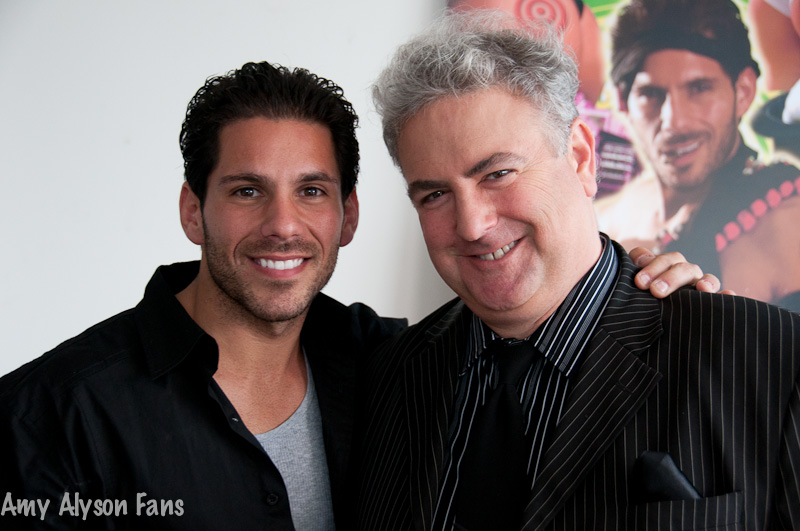 Michael Mendelsohn and Mike Dusi in Amy Alyson Fans (2011)