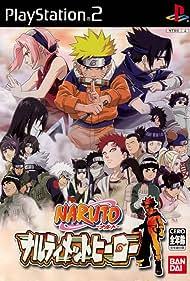 Crispin Freeman, Colleen O'Shaughnessey, and Kate Higgins in Naruto: Narutimetto hîrô (2003)