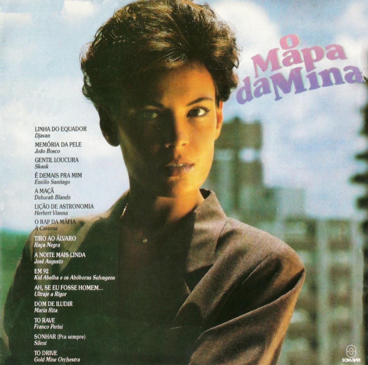 Carolina Ferraz in O Mapa da Mina (1993)