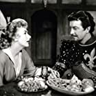 Robert Taylor and Kay Kendall in Quentin Durward (1955)