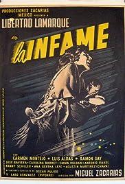 La infame Poster