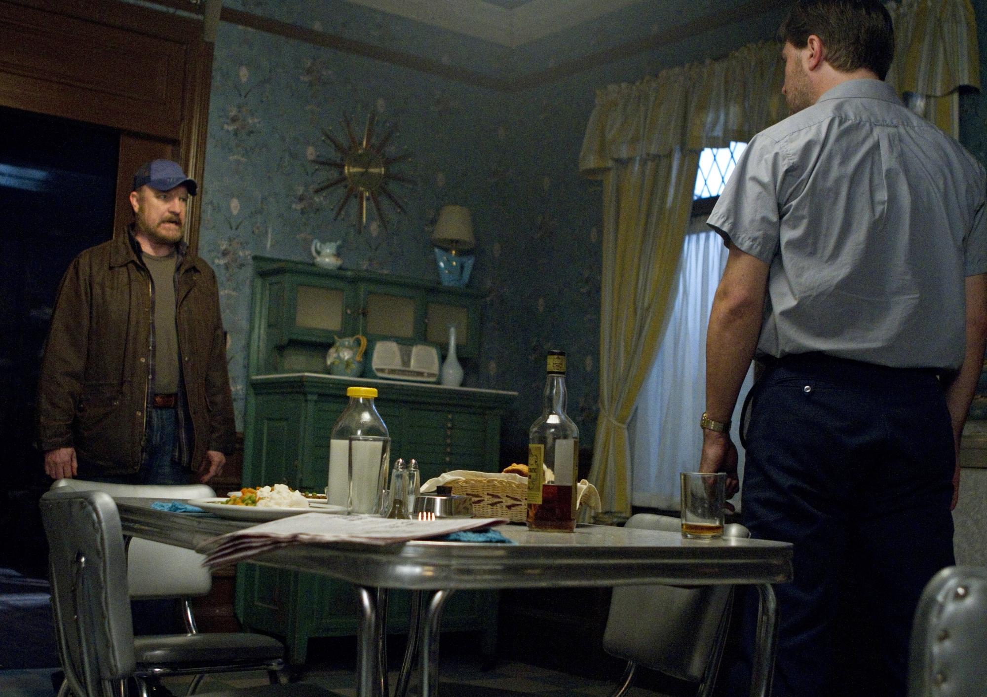 Jim Beaver and Edward Foy in Supernatural (2005)