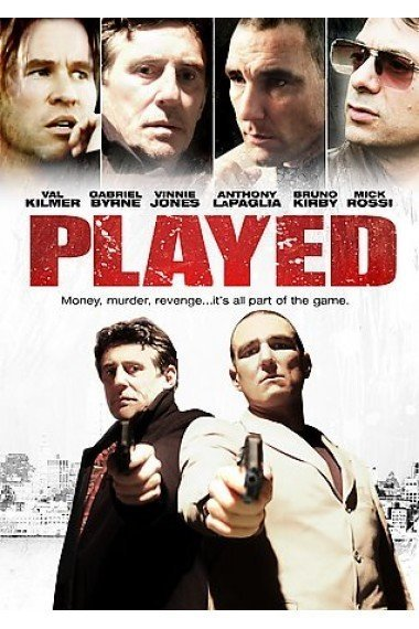 Val Kilmer, Gabriel Byrne, Vinnie Jones, and Mick Rossi in Played (2006)