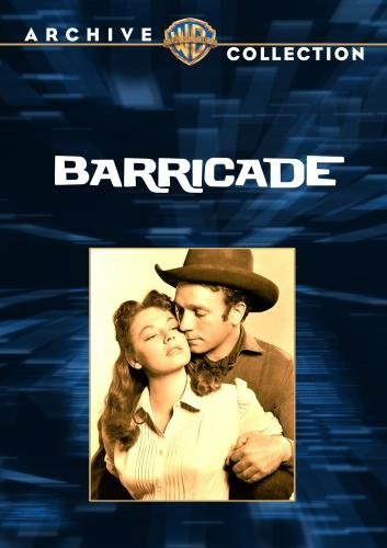 Dane Clark and Ruth Roman in Barricade (1950)