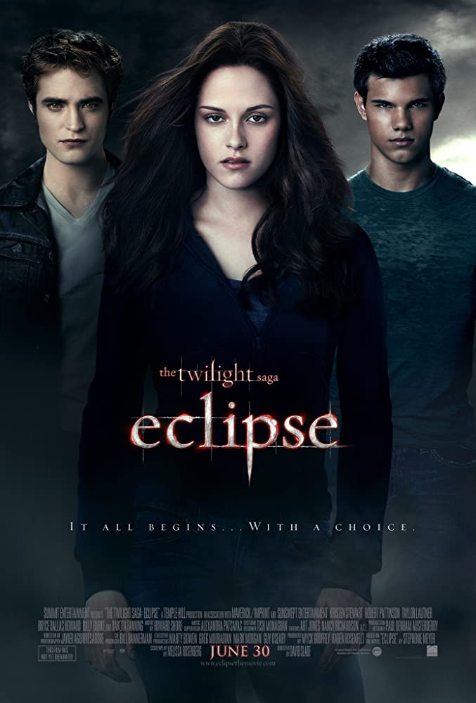 The Twilight Saga: Eclipse 2010 Hindi ORG Dual Audio 720p BluRay 900MB ESubs