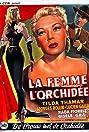 La femme à l'orchidée (1952) Poster