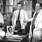 Ben Gazzara, Aline MacMahon, and Fredric March in The Young Doctors (1961)