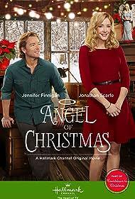Jennifer Finnigan and Jonathan Scarfe in Angel of Christmas (2015)