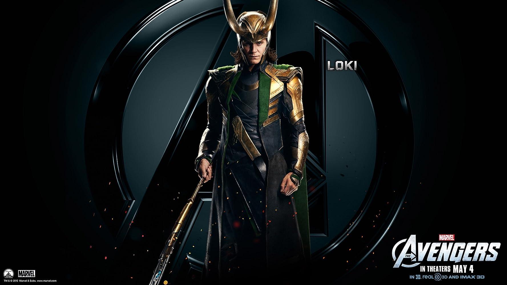 Tom Hiddleston in The Avengers (2012)