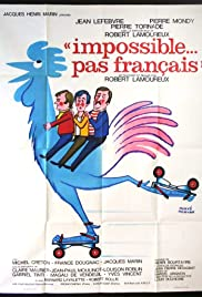 Impossible Is Not French Poster