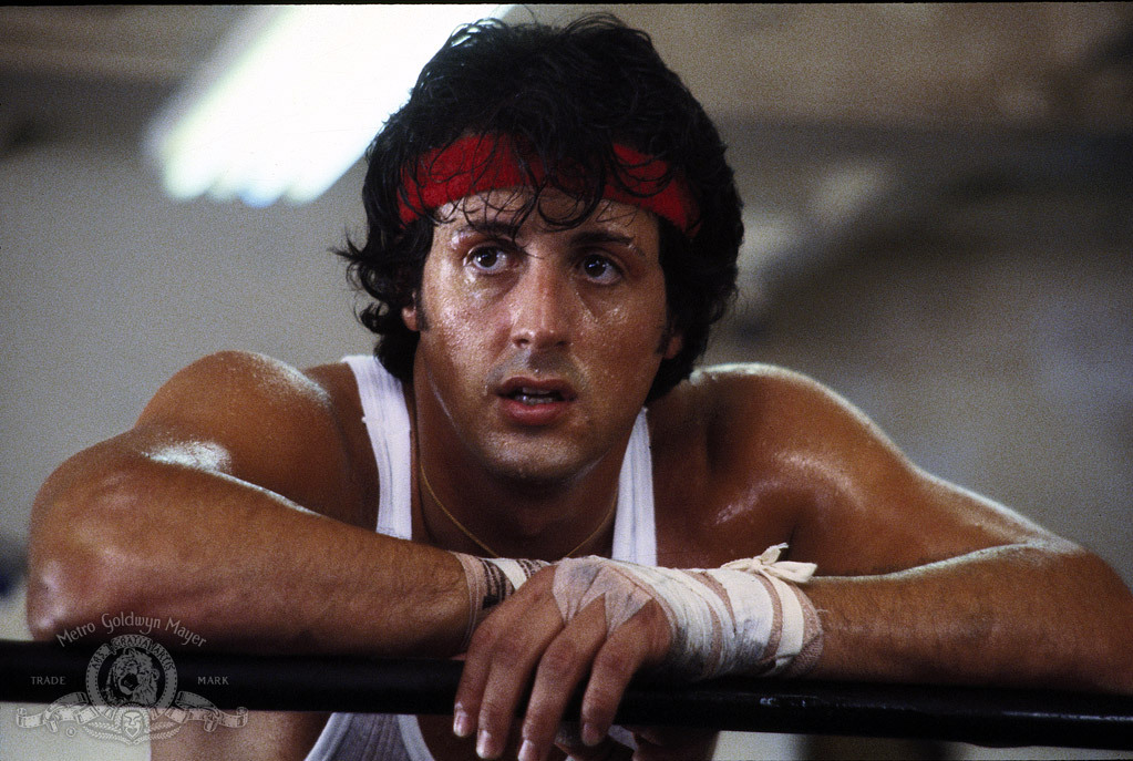 Sylvester Stallone in Rocky II 1979