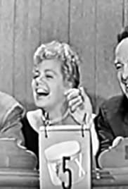 Two Mystery Guests: Australian professional tennis player Lew Hoad; actress Shelley Winters & actor Anthony Franciosa (Shelley's 3rd appearance as mystery guest) Poster