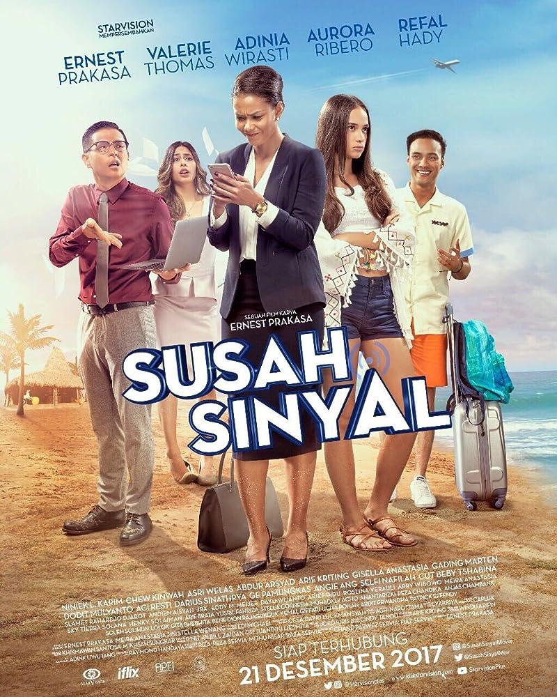Poster film 'Susah Sinyal'.