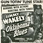Virginia Belmont, Dub Taylor, and Jimmy Wakely in Oklahoma Blues (1948)